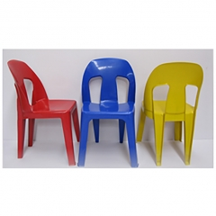 Heavy Duty Plastic Chair in Colour