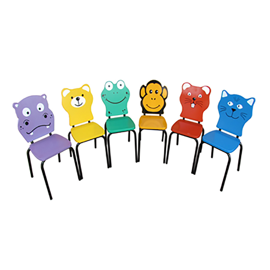 Animal faces chairs