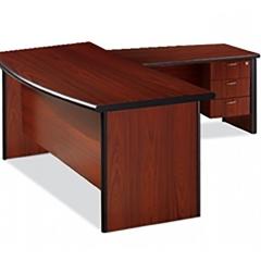 Executive-Desk-Bow-Shape