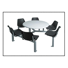 6-Seater-polishell-with-Round-fibreglass-table